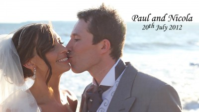 Paul & Nicola - 20th July 2012 - Margam Orangery