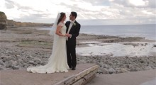 Kassie & Paul - St Donats Castle in Llantwit Major
