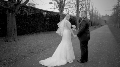 Chris & Sarah - Wedding - Royal Welsh College of Music & Drama