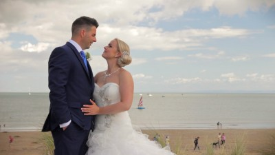Lee & Jo - Oxwich Bay Hotel, Gower Wedding